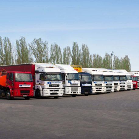 автостоятка для грузовикков